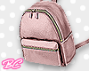|bc| Pink mini backpack