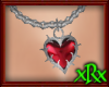 Goth Heart Necklace 2