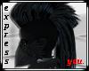 Black Feather Hair
