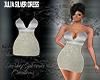 JULIA SILVER DRESS