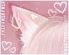 F. Neko Ears Heart Blond