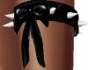 Spiked Garter Bow L