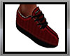 sports shoe red