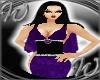 Purple BKDrape Gown