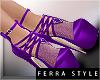 ~F~Arella Pumps Violet