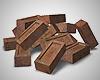 Realistic Brick Pile