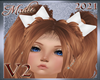 !a PigTail Bows  Wh V2