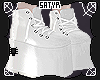 White Monster Shoes