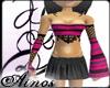 {A}Punk Pink Top