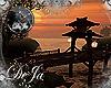 rD asian sunset bridge