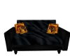Golden Dragon Loveseat