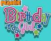 🍑 Birthday girl Sign