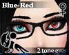 [Hie] Blue-Red eyes