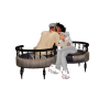 Couples Kissing Chair