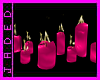 ~Candles in a line
