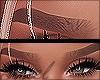 ☾ Eyebrows .Blonde