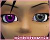 Amethyst/Charcoal Eyes