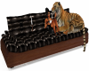 Leather Tiger Couch