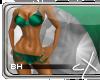 .cX.Satin{Emerald} BH