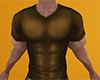 Brown Muscled Shirt (M)