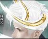 !# Golden lined horns