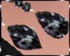 Black Drops Earrings