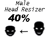 Head Resizer Avatar 40%