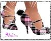 Pnk/Blk Bunny Shoes