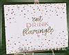 H. Flamingle Sign