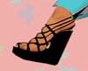 *SVN* Ebony Wedge shoes