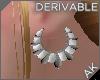 ~AK~ Pearl  Earrings