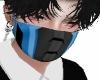 Blue Cyborg mask