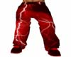 Red Lightning Pants
