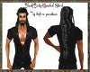 Black Body-Muscled Shirt