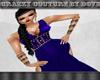 Cc - Grecian Blue Gown