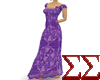 Purple Shirer Dress