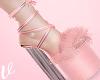 *V Bimbo Pink Heels