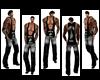 Cowboy undershirt Tattoo
