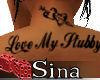 Love my Stubby Back Tat