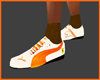Tenis Puma Naranja