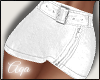 Leather White skirt- RL