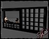 ::K:: Black Room Divider