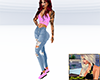 Pink & Jeans Outfit SP11