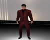 suit jacket burgundy B