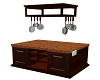 Darkwood Kitchen Island