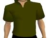 CJ69Olive Mock Collar{M}