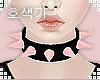 Bite Collar |Pink|