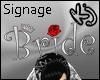 [K2J] Bride Sign Silver