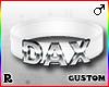 ☢! Dax Collar Silver