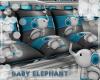 Baby Elephant PalletSofa